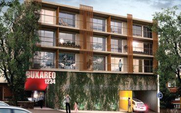 Venta apartamento Monoambiente patio Pocitos Neo Buxareo