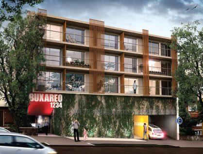 Venta apartamento Monoambiente con patio, Pocitos – Edificio Neo Buxareo