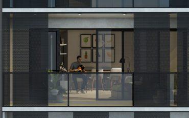 Venta oficina La Blanqueada – Edificio Lagom Herrera