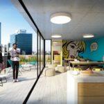 Venta apartamento monoambiente Pocitos, Montevideo – Edificio Yes!
