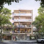 Venta Apartamento Monoambiente en Pocitos, Montevideo – Edificio M+