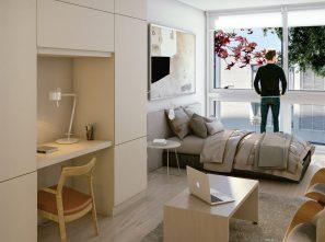 Venta Apartamento Monoambiente Centro Edificio Andes