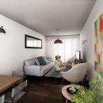 Venta Apartamento Monoambiente Pocitos Marina W