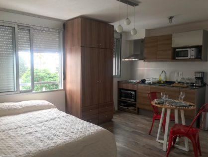 Alquiler apartamento monoambiente Pocitos Marina 26 III 404 $17.000
